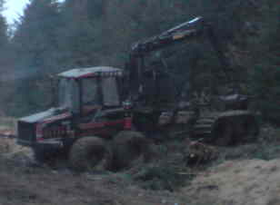 Valmet 860 forwarder